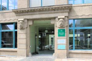 Portal am Industriepalast Leipzig
