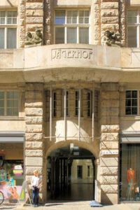 Portal Jägerhof Leipzig