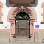 Portale des Predigerhauseses in Leipzig