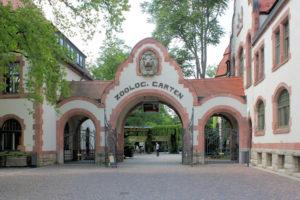 Portal des Zoologischen Gartens Leipzig