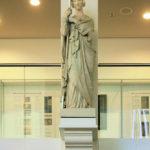 Die vier Regententugenden im Neuen Augusteum der Universität Leipzig, die Frömmigkeit