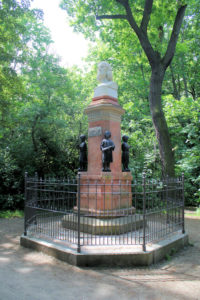 Zöllner-Denkmal in Leipzig