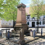 Liebertwolkwitz, Teichmann-Denkmal