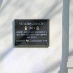 Lindenau (Alt-), Gedenktafel Völkerschlacht