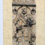 Liptitz, Grabplatte Hanss von Grunrade