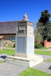 Denkmal für die Gefallenen des 1. Weltkriegs Lissa