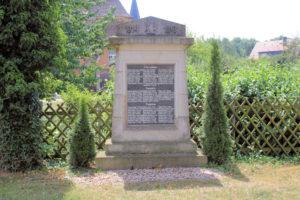Denkmal für die Gefallenen des 1. Weltkriegs Lützschena