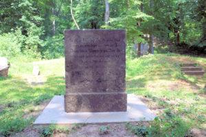Grabmal für Christian Schellenberg in Lützschena