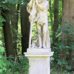 Statue des Kronos im Schlosspark Lützschena