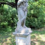 Statue der Venus im Schlosspark Lützschena