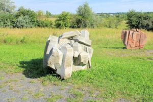 Landschaftskunst am Markkleeberger See - Silizium + Sauerstoff