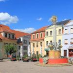 Oschatz, Brunnen Altmarkt