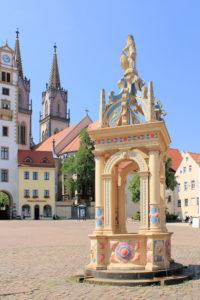 Neumarktbrunnen Oschatz