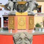 Brunnen auf dem Altmarkt Oschatz