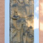 Otzdorf, Grabplatte