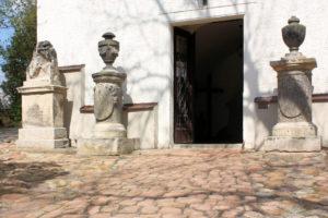 3 Grabsteine auf dem Friedhof Panitzsch