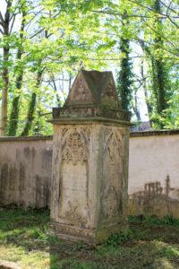 Grabmal von Johann Christian Heinichen Pegau