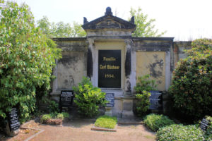 Grabmal der Familie Büchner auf dem Friedhof in Plagwitz