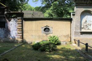 Grabmal der Familie Carl Reissmann auf dem Friedhof in Plagwitz