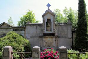 Grabmal auf dem Friedhof in Plagwitz