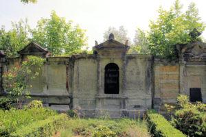 Grabmal der Familien E. Heinold & A. Voigt auf dem Friedhof in Plagwitz