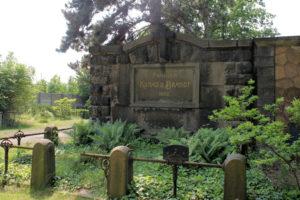 Grabmal Kunad & Brandt auf dem Friedhof in Plagwitzv