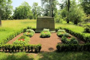 Grabmal der Familie Weiße auf dem Friedhof in Plagwitz