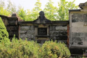 Grabmal der Familie Nötzel auf dem Friedhof in Plagwitz