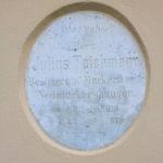 Pötzschau, Grabplatte Teichmann Großpötzschau