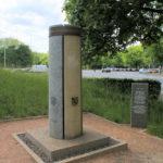 Denkmal zum 550. Jahrestag der Übergabe des Schutzbriefes an das Mitteldeutsche Steinmetzhandwerk in Probstheida