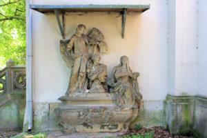 Grabmal Heinrich von Bünau in Püchau