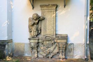 Grabmal für ein Mitglied der Familie von Hohenthal in Püchau