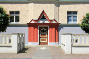 Portal Wohnhaus Holsteinstraße 24 in Reudnitz-Thonberg