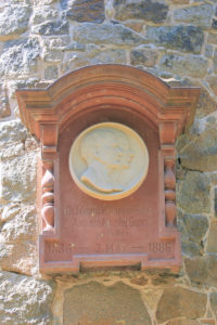Gedenktafel für Eduard Wilhelm Güntz und Auguste Amalie Güntz in Reudnitz-Thonberg