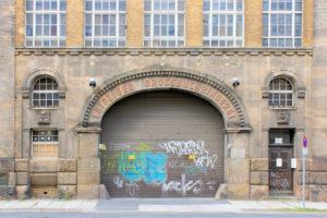 Portal der ehem. Leipziger Großbuchbinderei in Reudnitz-Thonberg