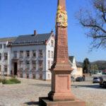 Rochlitz, Postmeilensäule