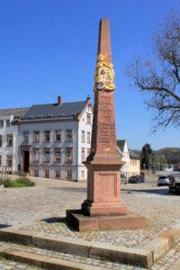 Kursächsische Postmeilensäule Rochlitz