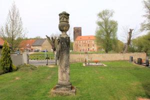 Grabmal für Caroline Leopoldine Jaspern in Schnaditz