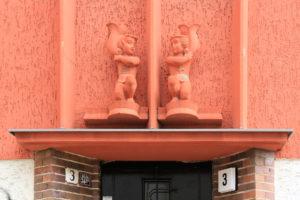 Portal am Wohnhaus Cunnersdorfer Straße 3 Sellerhausen-Stünz