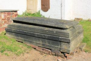 Grabmal der Wilhelmine von Kracht in Sitten