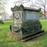 Sarkophag für Friederike Quandt in Wachau