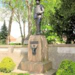 Wermsdorf, Denkmal König Albert von Sachsen