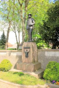 Denkmal König Albert von Sachsen in Wermsdorf