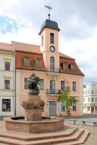 Ringelnatzbrunnen Wurzen
