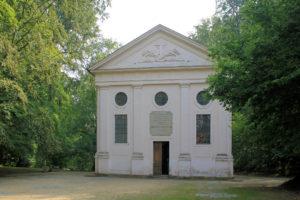 Mausoleum im Klosterpark Altzella
