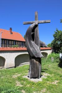 Kreuz im Segel in Zöbigker