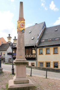 Kursächsische Postmeilensäule Zschopau
