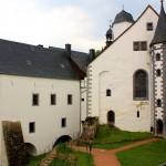 Schloss Lauenstein, Schlosshof
