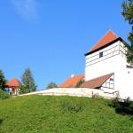Bad Düben, Burg Düben, Burghügel