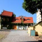 Bad Düben, Burg Düben, Burghof